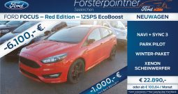 Ford Focus 1,0 EcoBoost ST-Line RED EDITION