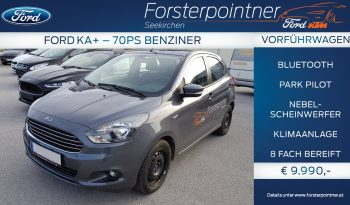 Ford Ka + 1,2 Ti-VCT Ambiente 70PS Limousine