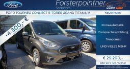 Ford Tourneo Grand Connect Titanium 1,5 TDCi