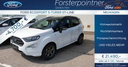 Ford EcoSport 1,0 EcoBoost ST-Line SUV