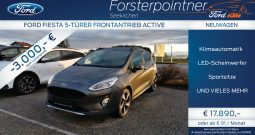 Ford Fiesta Active 1,0 EcoBoost Start/Stop
