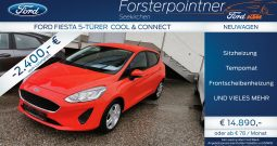 Ford Fiesta Cool & Connect 1,1