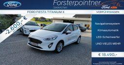 Ford Fiesta Titanium X 1,0 EcoBoost Start/Stop