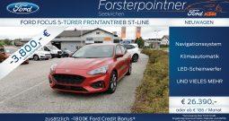 Ford Focus 1,0 EcoBoost Hybrid ST-Line