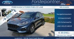 Ford Kuga 2,5 Duratec PHEV ST-Line Aut. SUV