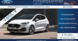 Ford Fiesta ST-Line 1,0 EcoBoost *BESTELLBAR*